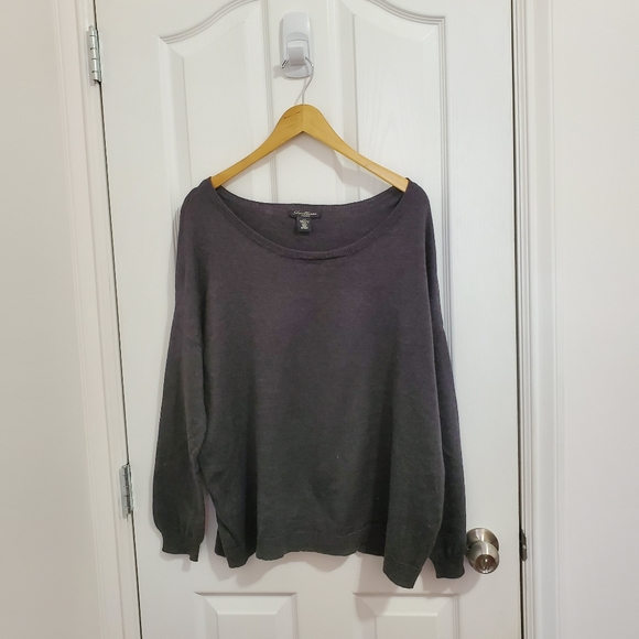 SWS Heather Gray Baggy Sweater